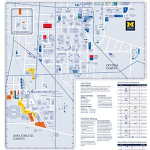 Central and Ross Athletic Campus map