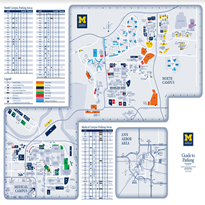 North and Medical Campus map